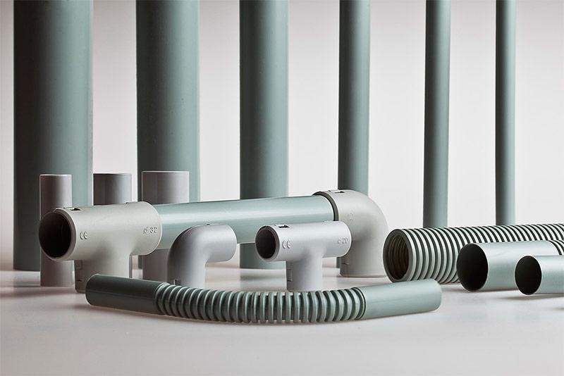 Гладкие трубы для кабеля