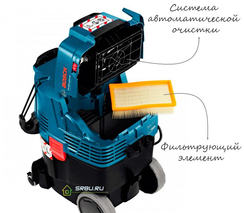 Система автоматической очистки фильтра