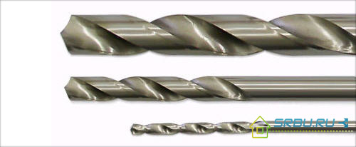 Обычное сверло по металу