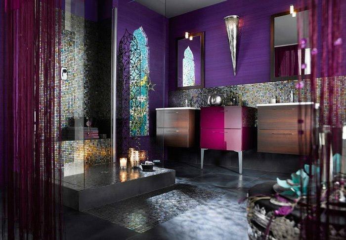 Марокканская ванная комната