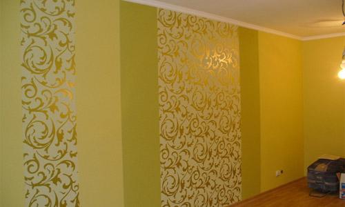 Обои для стен с цветами в интерьере