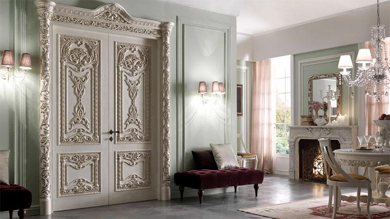 Двери с наличниками рисунки