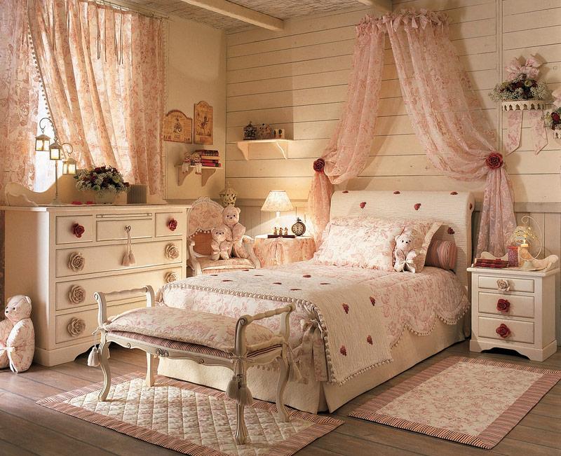 Interior del dormitorio en el estilo de provence fotos - Provence mobiliario ...