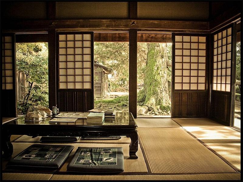 Japanischer stil im innenraum for Japanischer stil