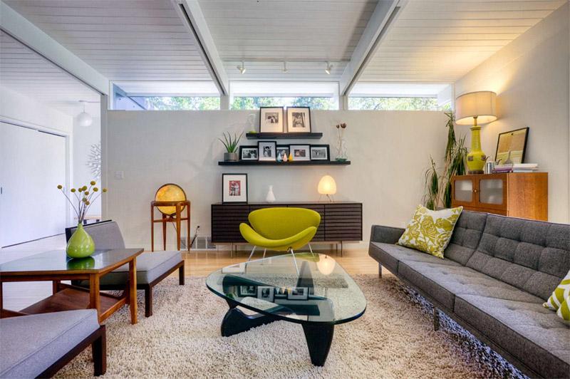Элегантная современная гостинная