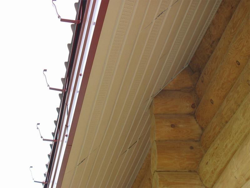 Как сделать подшивку крыши