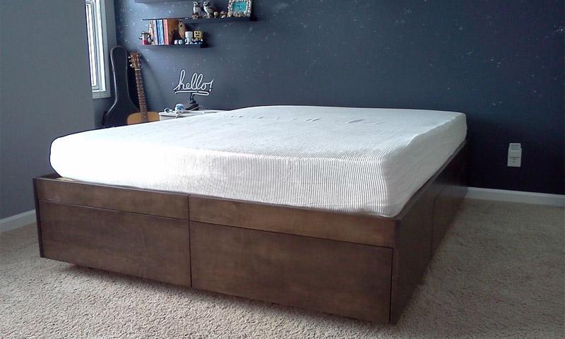 Как сделать кровать подиум своими руками