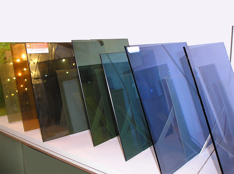 Тонированные стекла для стеклопакета