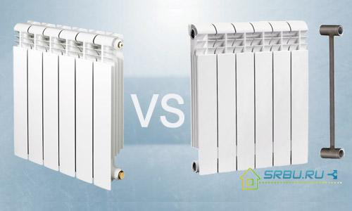 Радиатор алюминиевый или биметаллический какой выбрать