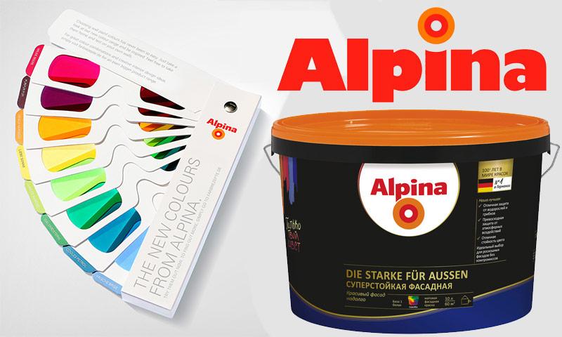 Краска альпина инструкция по применению