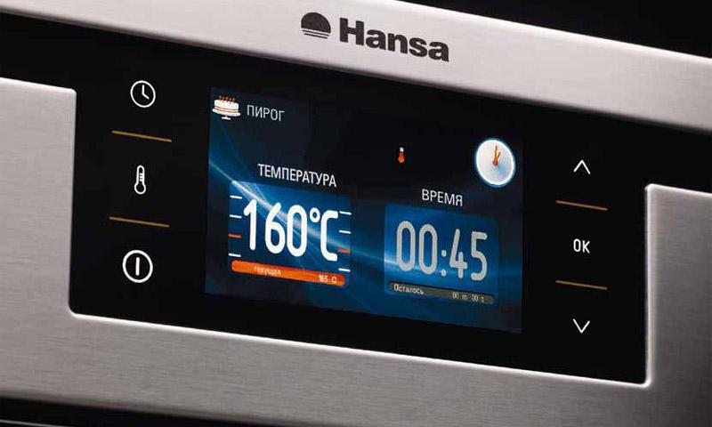Hansa духовой шкаф инструкция