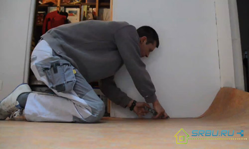 Укладка линолеума своими руками - инструкция по укладке
