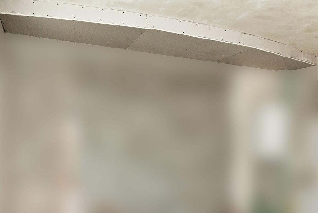 Фото как сделать двухуровневый потолок своими руками