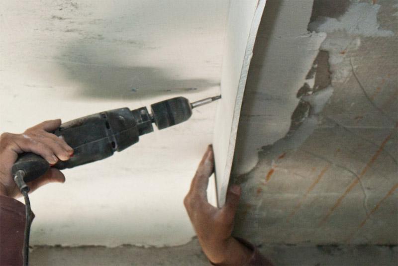 Крепление боковой стенки