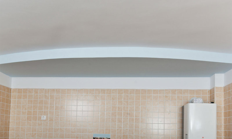 Потолок двухуровневый из гкл своими руками