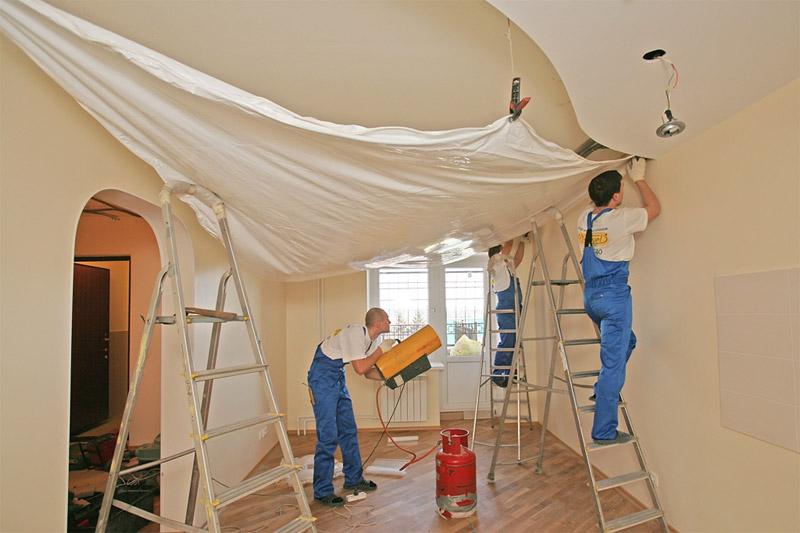 Натяжные потолки: как выбрать материал, производителя и фактуру полотна