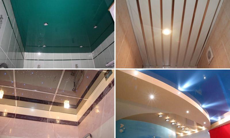Как сделать потолок в комнате в картинках