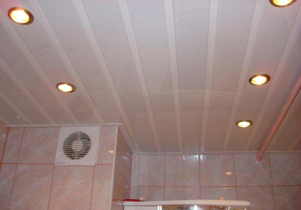 Пластиковые потолки в ванной комнате своими руками