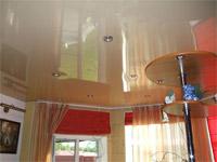 Виды натяжных потолков по материалу изготовления, конструкции и дизайну Фото