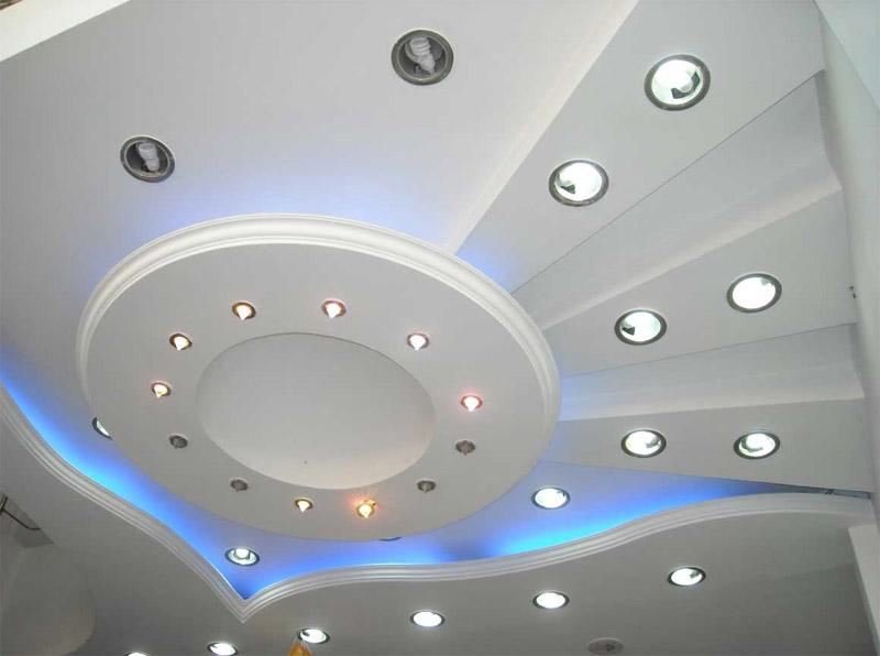 Виды потолков из гипсокартона фото