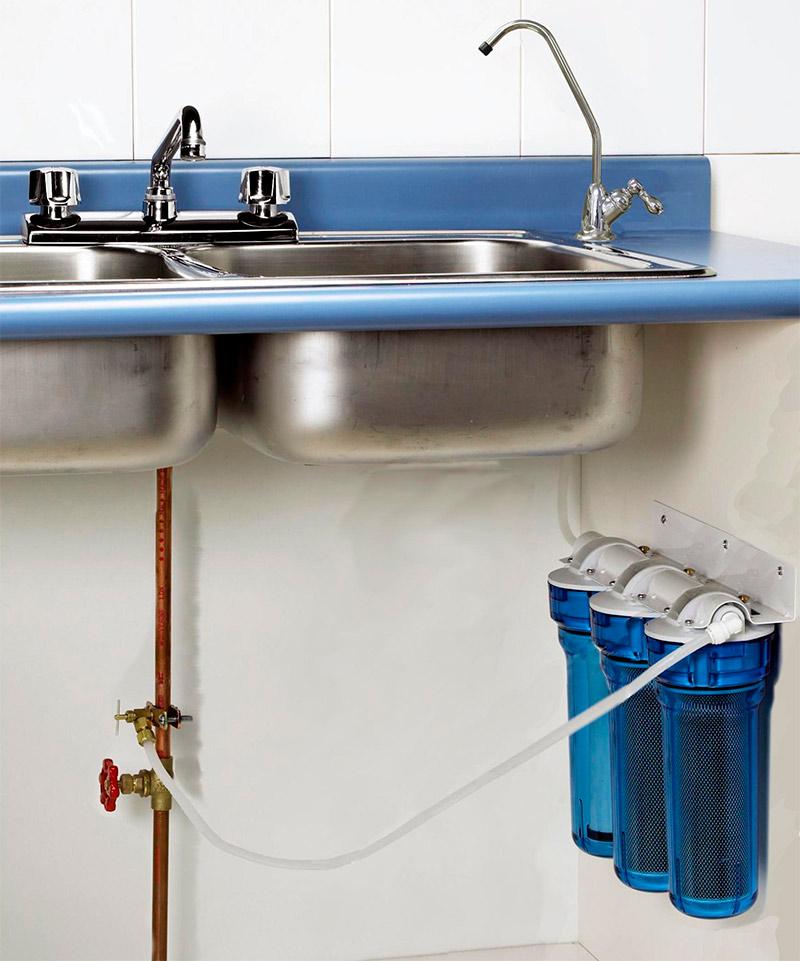 Фильтр для воды под мойку установка своими руками 281