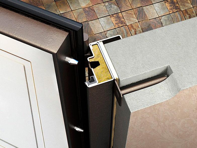 Монтажная пластина дверной коробки