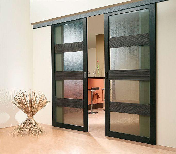 Дизайн раздвижных дверей фото