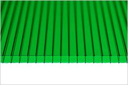 Зеленый поликарбонат