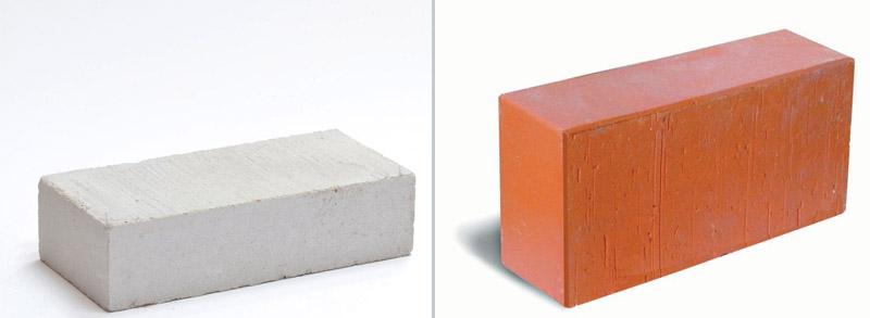 Полнотелый керамический и силикатный кирпич