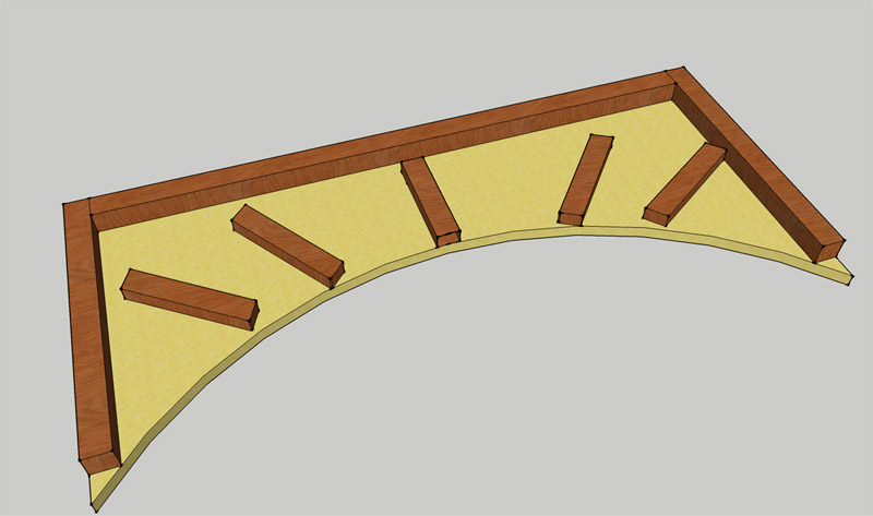 Рама для арки