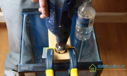 Как просверлить отверстие в стекле - необходимые инструменты и технология с ...