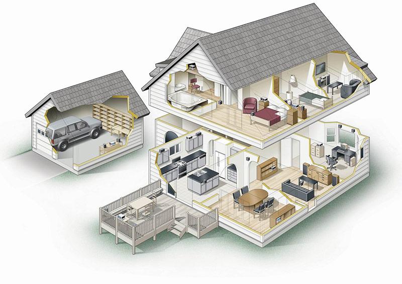 Правильная планировка дома