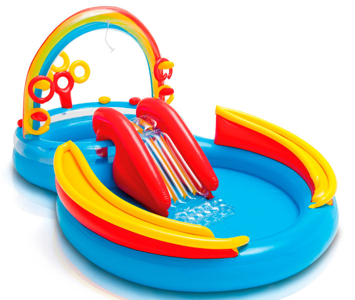 Игровой центр Intex Rainbow Ring Play Center 57453