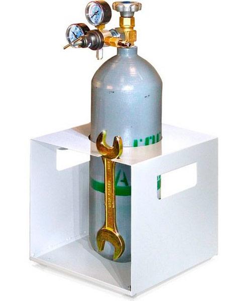 Баллон с инертным газом для аргонодуговой сварки