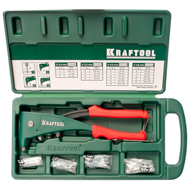 Комплектация KRAFTOOL INDUSTRIE 3 31173 H6