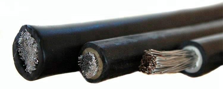 алюминиевый сварочный кабель