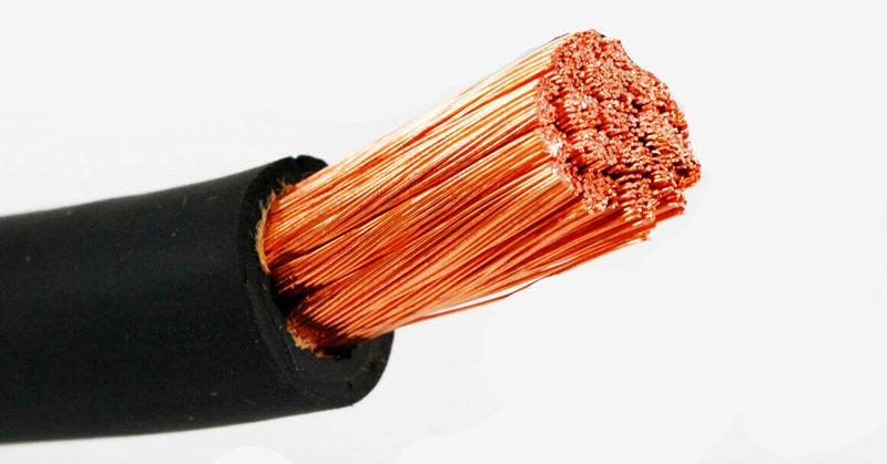 медный сварочный кабель