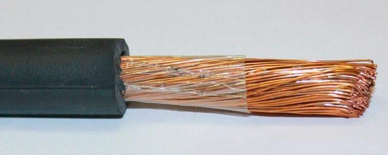 Сварочный кабель КОГ1