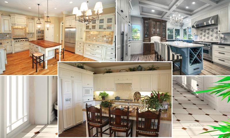 Белая кухня в интерьере - идеи интерьера кухни