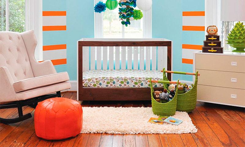 Цвет детской комнаты - варианты оформления