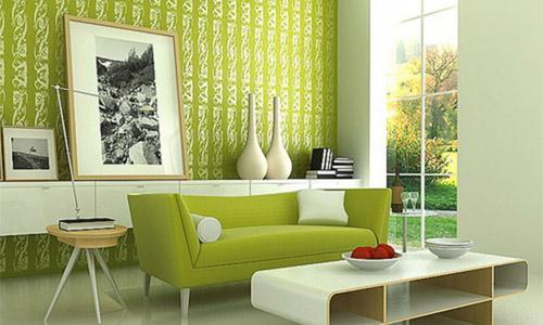 Фисташковый цвет в интерьере кухни, гостиной или спальни и сочетание с другими цветами