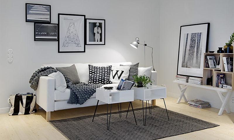 Гостиная в скандинавском стиле - идеи и секреты оформления