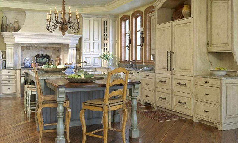 дизайн интерьера кухни в стиле прованс секреты и фото идеи