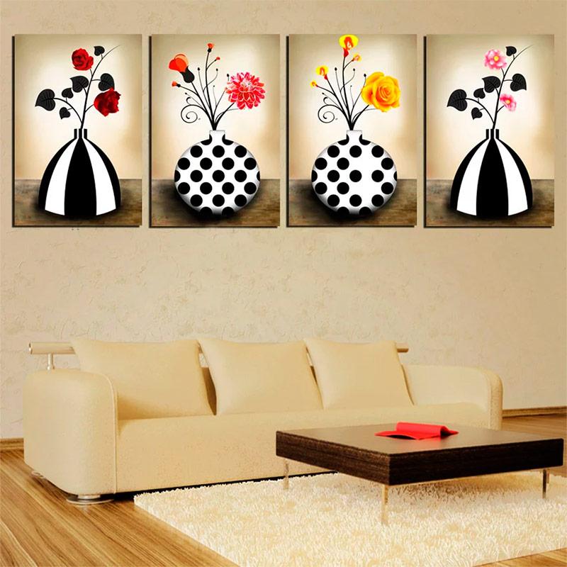 Dipinti sulle pareti di diverse parti foto for Opzioni di rivestimenti verticali