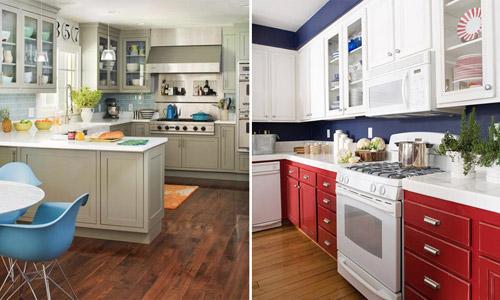 Как использовать цвета в интерьере кухни