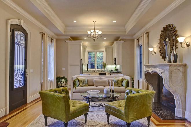 Зеленая мебель в современном интерьере