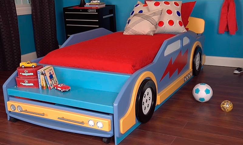 Изготовление кровати-машины своими руками
