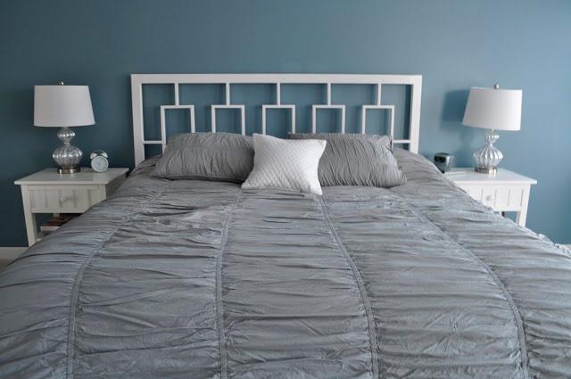 Изголовье присоединенное к кровати