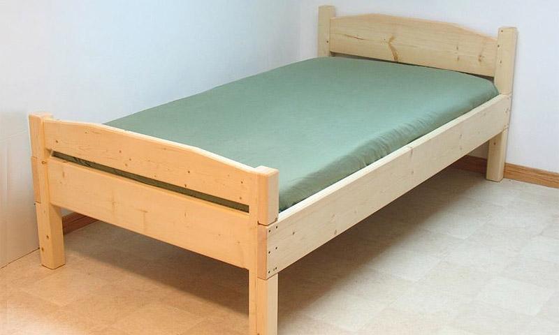 Как своими руками сделать односпальную кровать