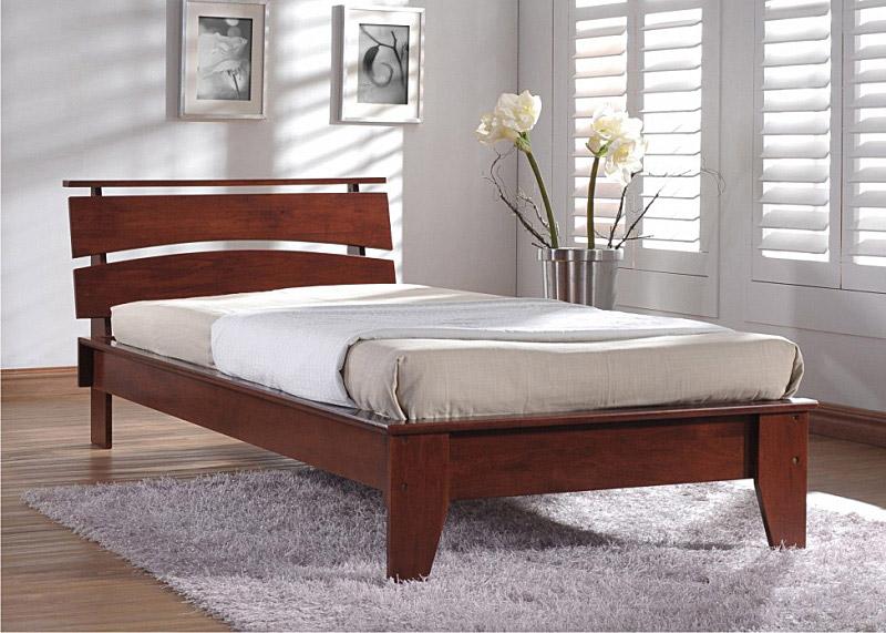 Полуторная кровать с уникальным дизайном